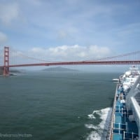 Trekaroo Princess Cruise Golden Gate Bridge