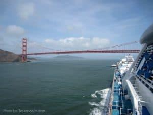Trekaroo Princess Cruise Golden Gate Bridge