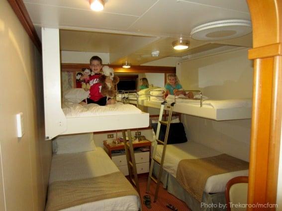 Family Cruising on Princess Cruises Stateroom