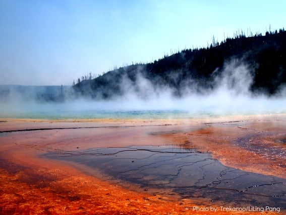 Yellowstone National Park Photo by: Trekaroo/LiLing Pang big sky montana with kids
