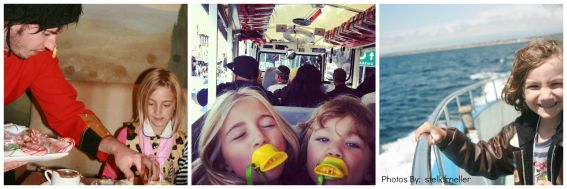 Kid-friendly high tea/Duck boat/whale watch