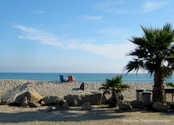 Beach camping Trekaroo
