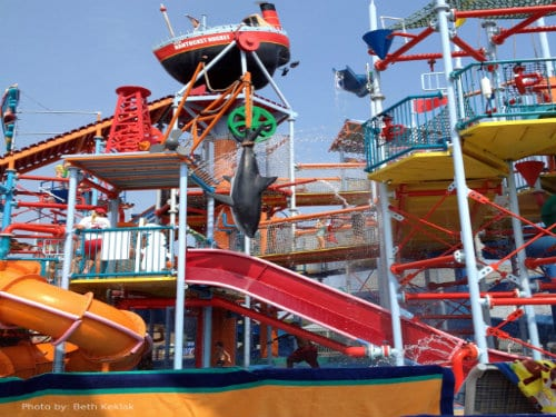 The jersey shore with kids is Open for Summer 2013: Breakwater Beach Waterpark Photo by: Beth Keklak
