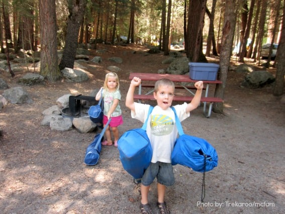 Camping Trekaroo Car Camping