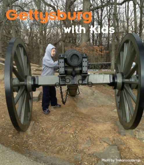 Gettysburg PA With Kids