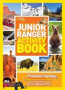 Junior Ranger Activity Book from National Geographic