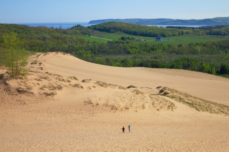 Places to Visit in Michigan Sleeping Bear Dunes National Lakeshore