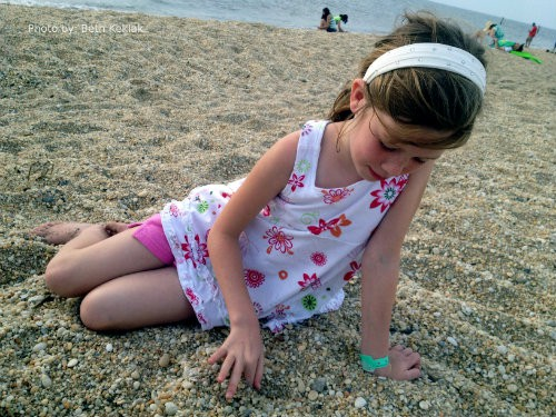 The jersey shore with kids is open for Summer 2013: Sunset Beach, Cape May, NJ Photo by: Beth Keklak