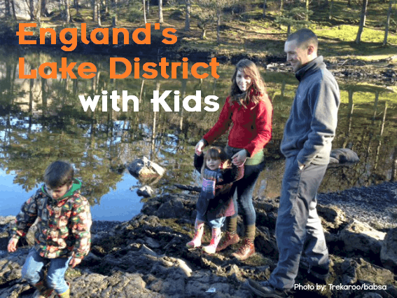 England's Lake District with kids