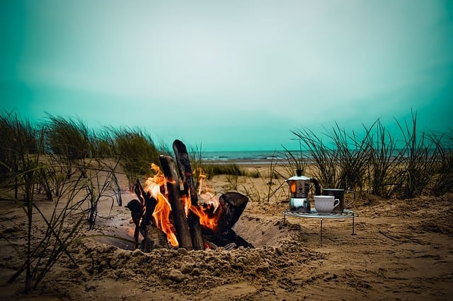 camping cook photo