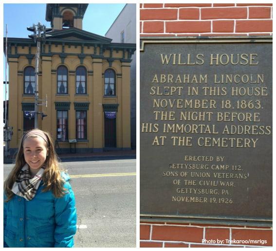 gettysburg PA Wills House