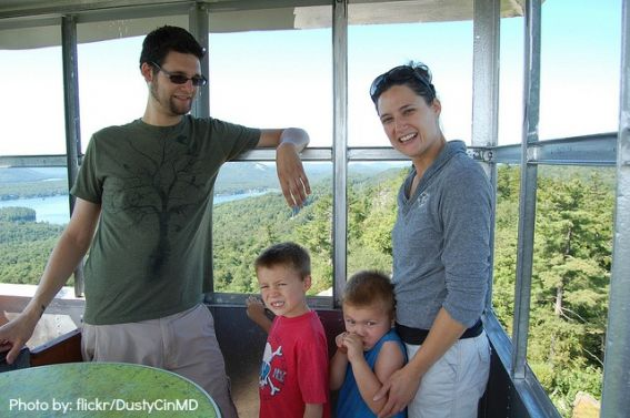 Camping without a tent: fire tower camping  Photo by: flickr/DustyCinMD