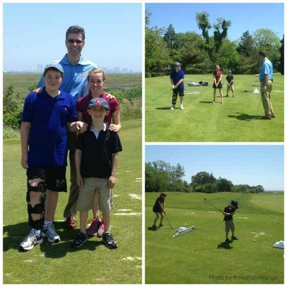 Junior Golfing at Atlantic CIty Country Club