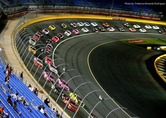 NASCAR Racing with Kids in Charlotte, NC Photo by: Trekaroo/Amanda Rodrigue
