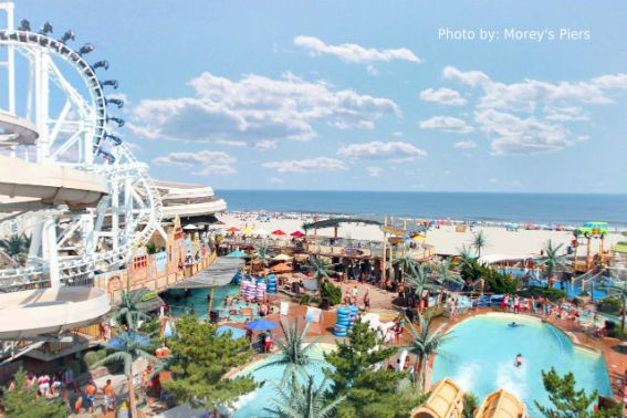 Ocean Oasis Waterpark, Morey's Piers, Wildwood, NJ, New Jersey, water park, boardwalk