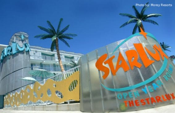 Starlux Hotel, kid friendly hotel, boardwalk, wildwood, New Jersey, NJ