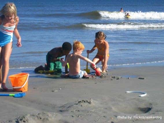 beach, Wildwood, NJ, New Jersey, family friendly beaches Photo by: Flickr:/sneakerdog