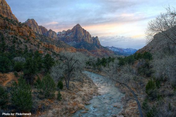 Zion National Park: Photo by: Flickr/reneS