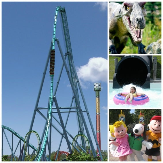 Attractions at Canda's Wonderland