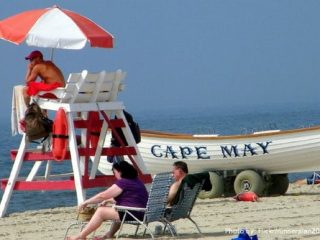 The Jersey Cape: 6 Family Friendly Activities: Cape May Beach Photo by: Flickr/runneralan2004 Cape May beach, kid friendly beach, family friendly beach