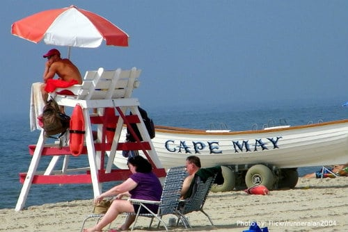 The Jersey Cape: 6 Family Friendly Activities: Cape May beach, kid friendly beach, family friendly beach Photo by: Flickr/runneralan2004