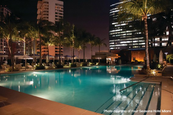 FS Miami night pool