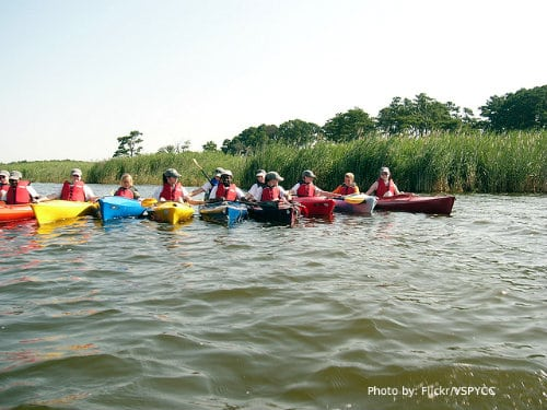 The Jersey Cape: 6 Family Friendly Activities  kayaking, bay kayaking, kayak tour  Photo by: Flickr/vspycc