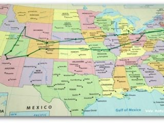 Troo American Road Trip- Planning a Road Trip Itinerary