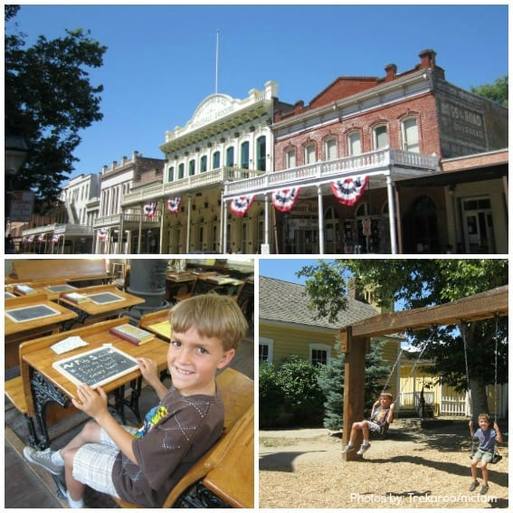 Old Sacramento Collage Trekaroo Kid Friendly Reviews california history trip with kids