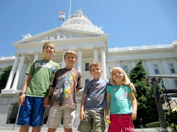 California State Capitol Sacramento Trekaroo Kid Friendly Reviews