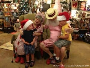 Santa Christmas in July Union Street