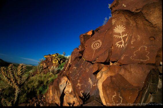 Santa Fe Petroglyphs