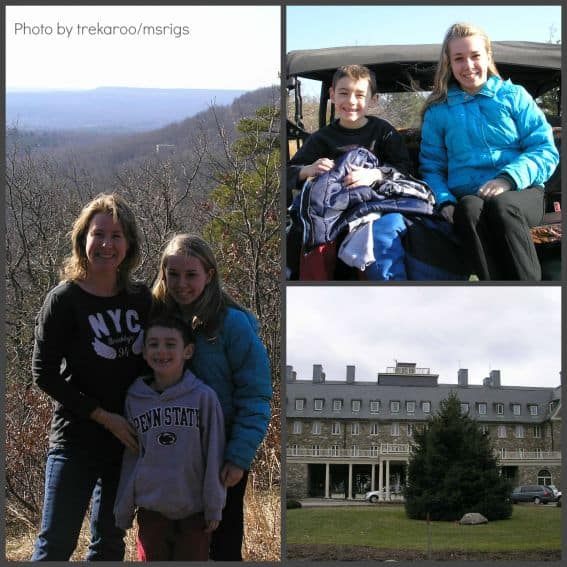 Skytop Lodge  Pocono Mountains with Kids Photo by: Trekaroo/msrigs