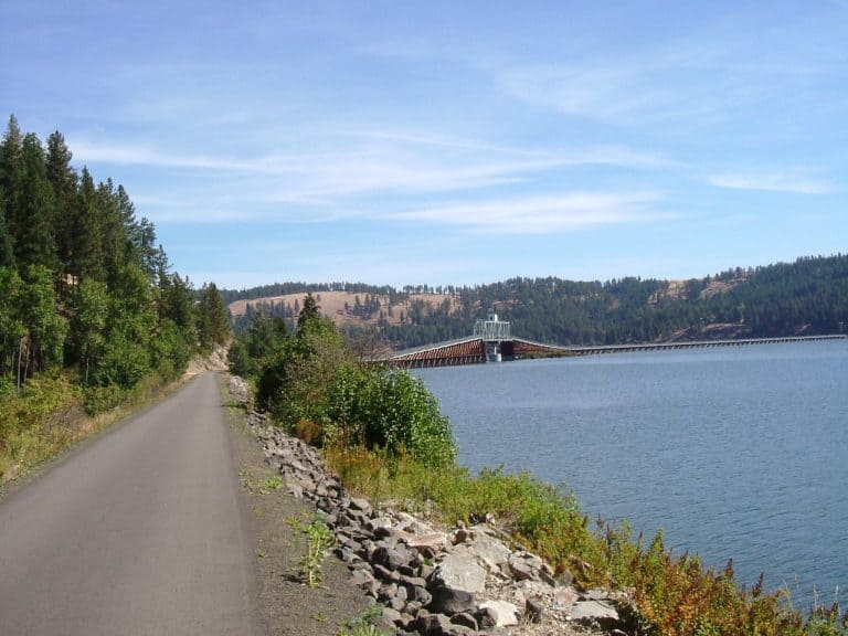 Places to visit in Idaho: Trail of the Coeur d/ Alenes