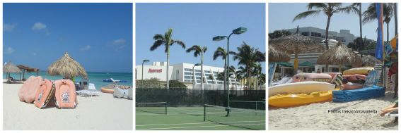 kid friendly Aruba beach and tennis