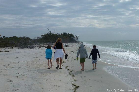 kid friendly north captiva family walk