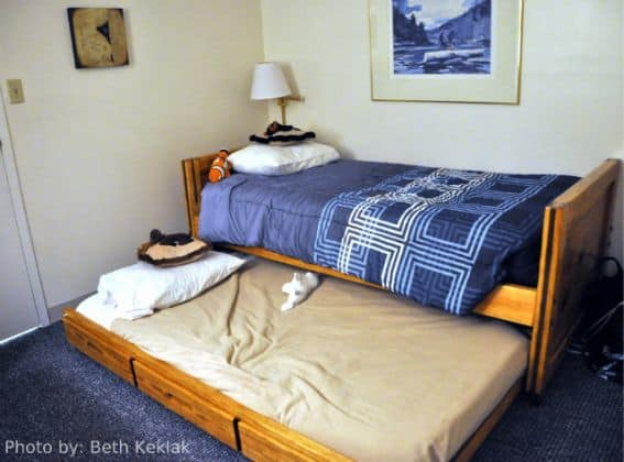 Family friendly condominium suite at Black Bear Lodge