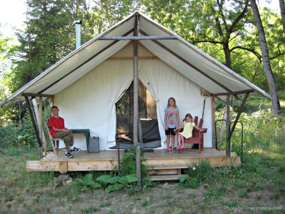 Glamping with Kids: River Dance Lodge, ID Photo by: Trekaroo/akiesel