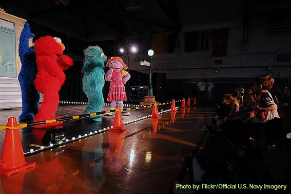 Military Family Travel Sesame Street