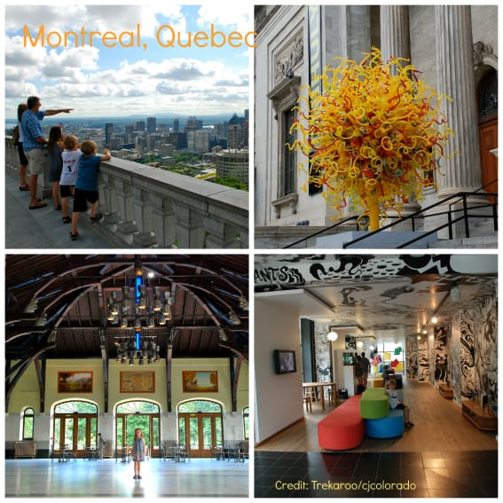 Montreal Family Travel
