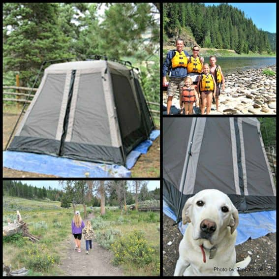 Glamping with Kids: Tent Collage Photos by: Trekaroo/akiesel