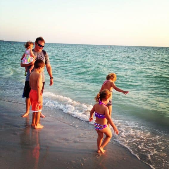 St. Pete Beach with kids