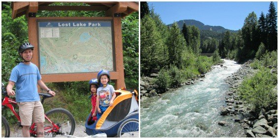 Biking in Whistler, BC with Kids Photo by: Trekaroo/Carrie Yu