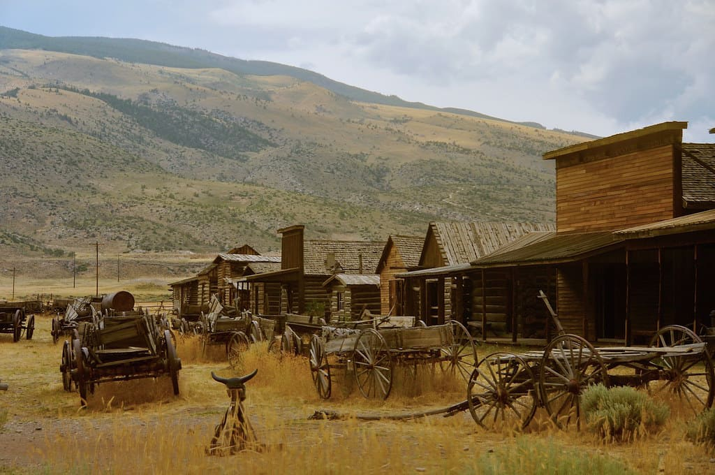 One of the best things to do in Wyoming is visit old trail town