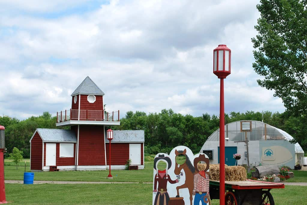 Yunker Farm is one of the best things to do in North Dakota with kids