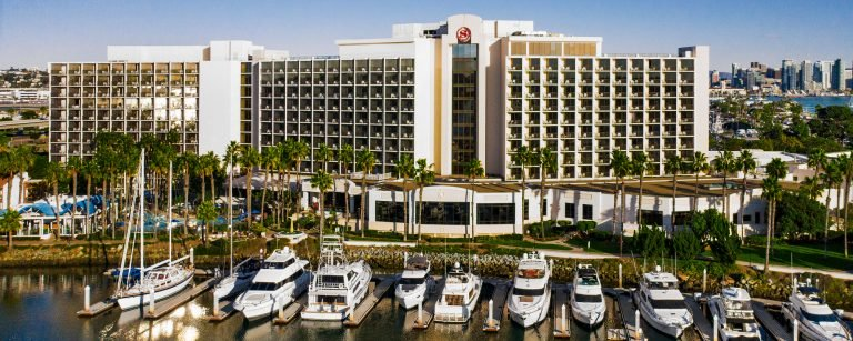 Sheraton Hotel San Diego is one of the best kid-friendly hotels in San Diego
