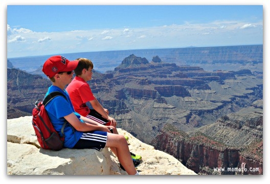The endless views at the North Rim of the Grand Canyon