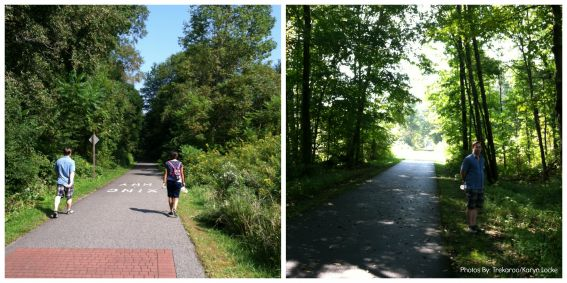 The Berkshires, MA Rail Trail