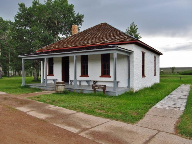 Fun things to do in Wyoming include a visit to Fort Bridger