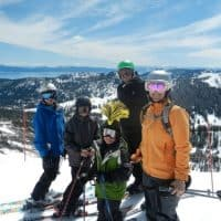 plan a multiple family ski trip